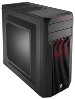Corsair Carbide SPEC-02 Series Red LED Mid-Tower Gaming Case