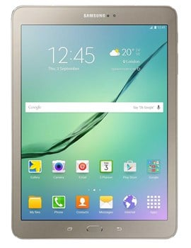 Samsung Galaxy Tab S2 2016 SM-T713 (8 inch) Tablet Octa-Core 1.8GHz+1.4GHz 3GB 32GB WiFi BT Camera Android 6.0.1 Marshmallow (Gold)