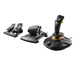 Thrustmaster T.16000M FCS FLIGHT PACK Includes Joystick/Throttle/Rudder Pedals