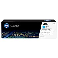 HP 201A (Yield: 1,400 Pages) Cyan Toner Cartridge