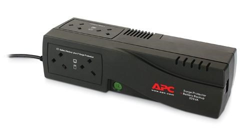 APC SurgeArrest Surge Protector and Battery Backup 325VA (UK)