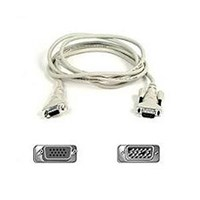 Belkin Cable/VGA Monitor Ext HDDB15 (Male to Female) 1.8m