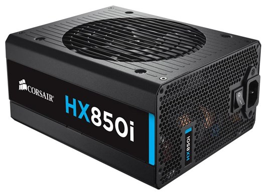 Corsair HXi Series 850W Modular 80+ Platinum PSU