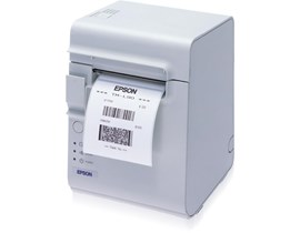 Epson TM-L90 (402) Colour Thermal Line Label Printer 150mm/sec Print Speed, 203dpi Serial/USB Power Supply (Cool White)