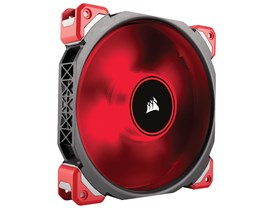 Corsair ML Series ML140 Pro Magnetic Levitation Fan (140mm) with Red LED