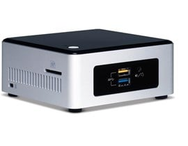 Intel NUC5CPYH Next Unit of Computing (NUC) Celeron (N3050) 1.6GHz WLAN BT (Integrated Graphics)
