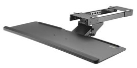 StarTech.com Under-Desk Adjustable Keyboard Tray (Black)