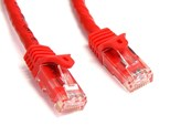 StarTech.com (4.57m) Cat6 Snagless UTP Gigabit Network Patch Cable RJ-45/RJ-45 (Red)