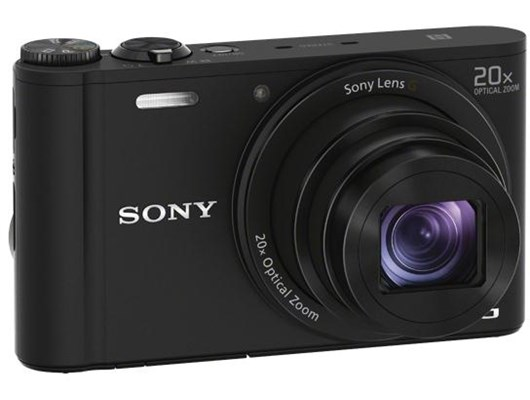 Sony Cyber-shot DSC-WX350 (18.2 MP) Digital Camera 20x Optical Zoom 3.0 inch LCD (Black)