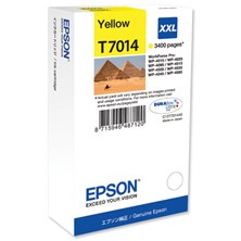 Epson T7014 (Yield 3400) Extra High Capacity Ink Cartridge (Yellow)
