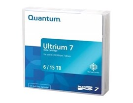 Quantum (6/15TB) 2.5:1 Compression 960m 750MB/s LTO-7 Ultrium Data Tape Cartridge (Purple)