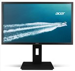 Acer Professional B246HYLAymdpr (23.8 inch) Full HD IPS Monitor 100M:1 250cd/m2 1920 x1080 6ms VGA + DVI (w/HDCP) + DP (Dark Grey)
