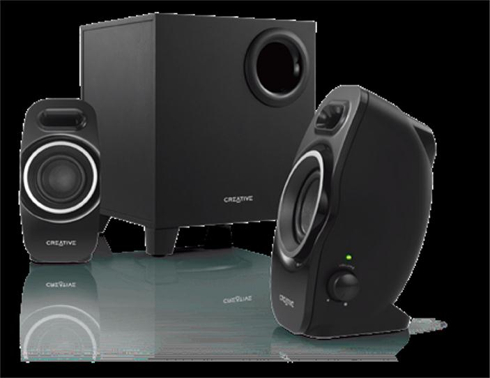 Creative A250 21 Speaker System Black 51MF0420AA004 CCL Computers