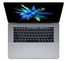 Apple MacBook Pro with Retina Display (15.4 inch) Notebook Core i7 (2.7GHz) 16GB 512GB Solid State Drive WLAN BT Webcam Mac OS Sierra Touch ID Sensor (Radeon Pro 455/Intel HD Graphics 530) Space Grey