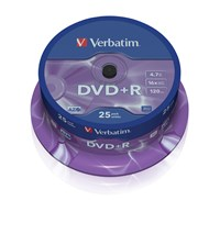 Verbatim DVD+R Media