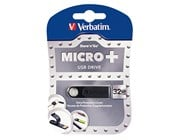 Verbatim Micro Plus 32GB USB Drive - USB 2.0 Black
