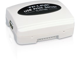 TP-Link TL-PS110U Single USB 2.0 Port Fast Ethernet Print Server