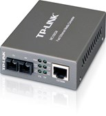 TP-LINK MC100CM 10/100Mbps Multi-Mode Media Converter (Black)