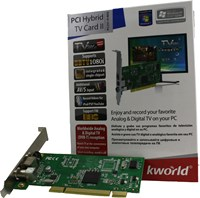 KWorld PC231-D RDS PCI Hybrid TV Card II