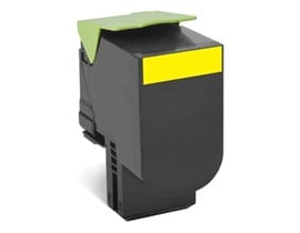 Lexmark Return Program 702Y (Yield: 1,000 Pages) Yellow Toner Cartridge