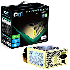 CiT Gold 550W Power Supply