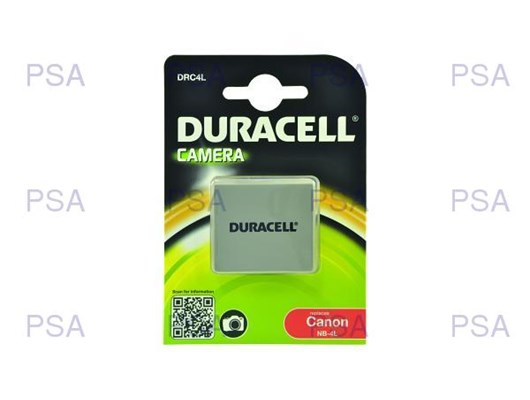 Duracell Rechargeable Digital Camera Battery (Canon NB-4L)