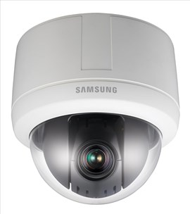 Samsung Techwin SNP-3120 (1/4 inch) IP 12x Zoom Compact PTZ Dome Camera WDR PoE+