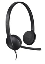 Logitech H340 Lightweight USB Headset with Noise-Cancelling Microphone