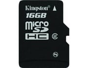 Kingston MicroSDHC (16GB) Card (Class 4)