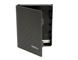 StarTech.com 2.5 inch Anti-Static Hard Drive Protector Case - (Black)
