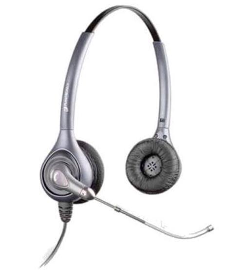 plantronics supraplus hw361  a wideband binaural voice tube