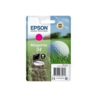 Epson Golf Ball 34 T3463 (Yield 300 pages) DURABrite Ultra Magenta 4.2ml Ink Cartridge