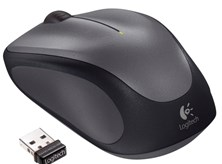 Logitech M235 Wireless Mouse (Black/Grey)