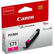 Canon CLI-571M (Yield: 306 Pages) Magenta Ink Cartridge