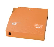 HP LTO Ultrium (15 to 50 Cleanings) Cleaning Tape Cartridge (Orange)