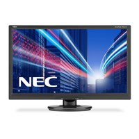 NEC AccuSync AS242W 24 inch LED Monitor - Full HD 1080p, 5ms, DVI