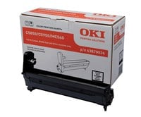 OKI 43870024 (Yield: 20,000 Pages) Black Imaging Drum