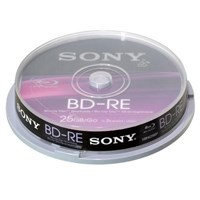 Sony Blu-Ray Disc 25GB RE 2x (10 Pack)