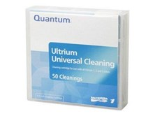 Quantum LTO Ultrium (15 to 50 Cleanings) Universal Cleaning Cartridge (Black)