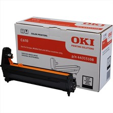 OKI Black (Yield 20,000 Pages) Image Drum for C610 A4 Colour Printers