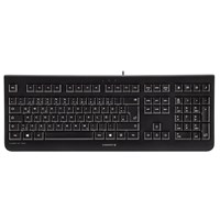 CHERRY KC 1000 Wired USB Keyboard (Black) - UK
