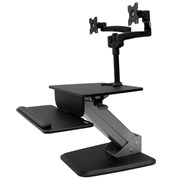 StarTech.com Dual Monitor Sit-to-stand Workstation