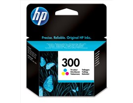HP No.300 Tri-Colour Ink Cartridge with Vivera Inks