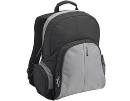 Targus Essential Backpack (Black/Grey) for 15.4 inch Notebook