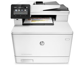 HP LaserJet Pro M477fnw (A4) Colour Wireless Network Ready Multifunction Laser Printer (Print/Copy/Scan/Fax) 256MB RAM/Flash 4.3 inch Colour LCD 27ppm (M/C) 50,000 (MDC)