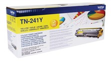 Brother TN-241Y (Yield 1,400 Pages) Toner Cartridge (Yellow)