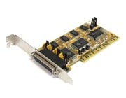 StarTech.com 4 Port PCI Dual Profile RS232 Powered Serial Adaptor Card