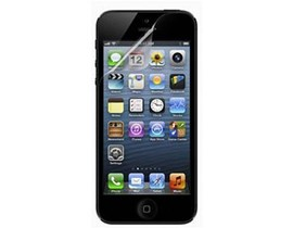 Belkin Screen Guard Transparent Screen Protector (1x Pack of 3 Screen Protectors) for iPhone 5