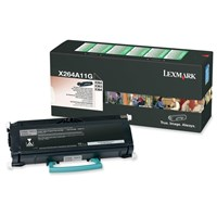 Lexmark (Yield: 3,500 Pages) Black Toner Cartridge for X264/X363/X364
