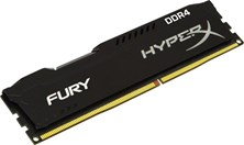 HyperX FURY Black 4GB (1x 4GB) 2400MHz DDR4 RAM